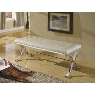 Maddock Elegant Upholstered Bench