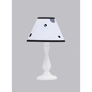 Polka Dot Triangle 10 Linen Bell Lamp Shade