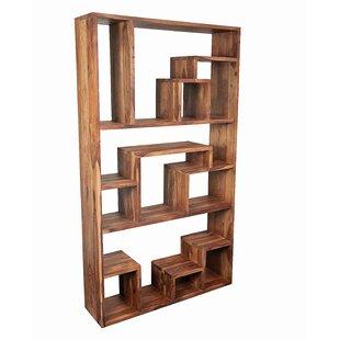 Allegro Sheesham Geometric Bookcase By Mistana
