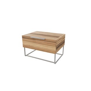 Kingon 1 Drawer Nightstand