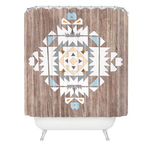Holley Tribal Polyester Single Shower Curtain