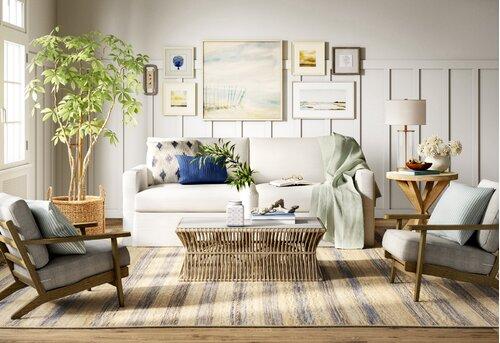 Beachy Living Room Design Ideas Birch Lane