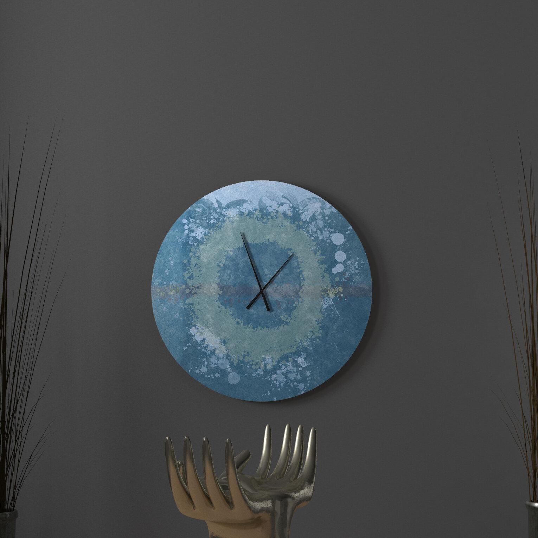 Ebern Designs Genivee Wall Clock Wayfair
