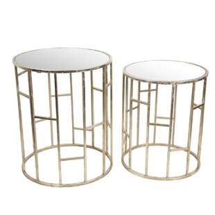2 Piece End Table by Privilege