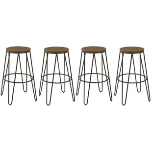 Keisha 30 Bar Stool (Set of 4) by Williston Forge
