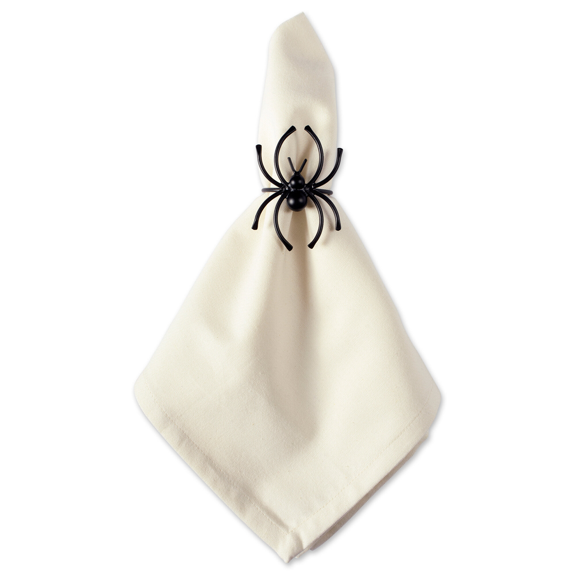 The Holiday Aisle Halloween Spider Sparkle Napkin Ring Reviews Wayfair