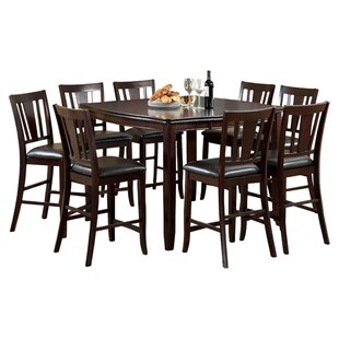 Birchover 9 Piece Counter Height Extendable Dining Set Red Barrel Studio