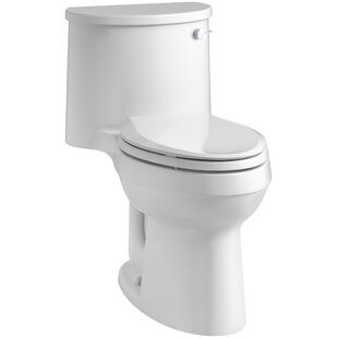 Kohler Adair Comfort Height 1.28 GPF Elongated One-Piece Toilet