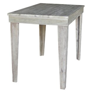 Galvin Solid Wood Counter Height Pub Table by Gracie Oaks Spacial Pricet