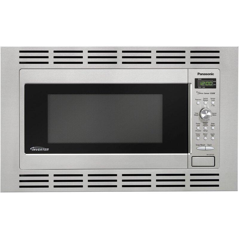 1 2 Cu Ft Microwave 27 Stainless Steel Trim Kit