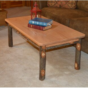 Yorba Hickory Solid Wood Coffee Table