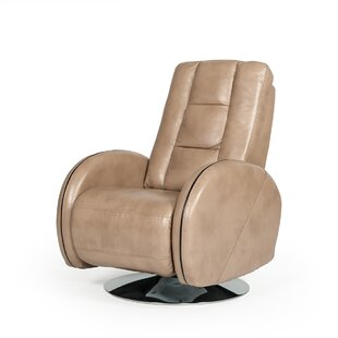 Union Rustic Fieldstone Manual Swivel Recliner