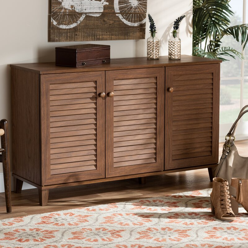 Modern Door Sideboard Shoe Cabinet Storage Cupboard Layer 4+5