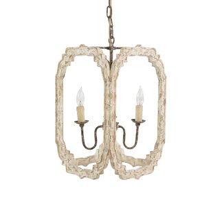 Gabby Gwinnett 4-Light Square/Rectangle Chandelier