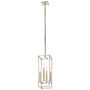 Auden 4-Light Rectangle Pendant by Mercer41