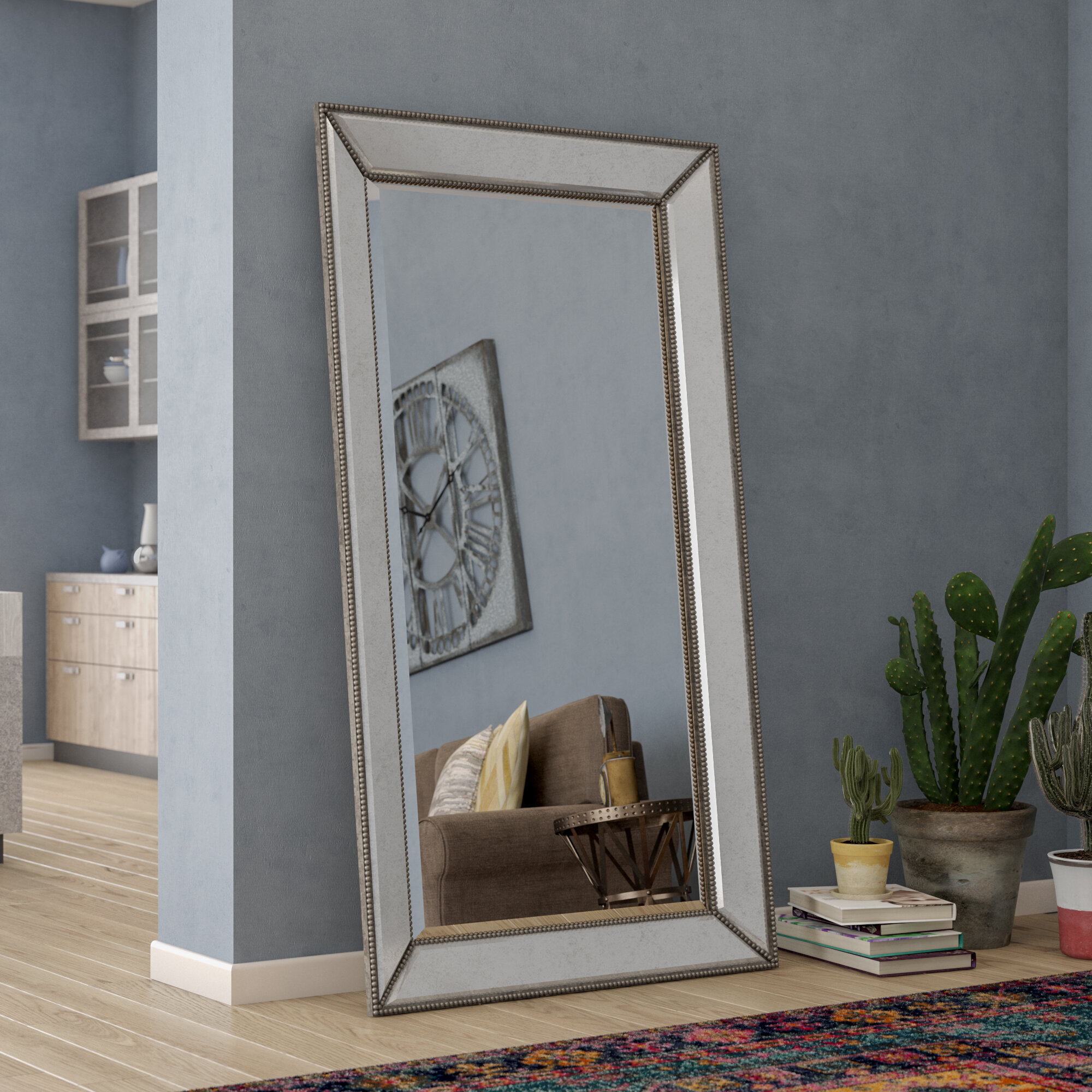 Gray Full Length Mirrors You Ll Love In 2021 Wayfair