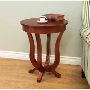 Benton Harbor Clark End Table by Charlton Home
