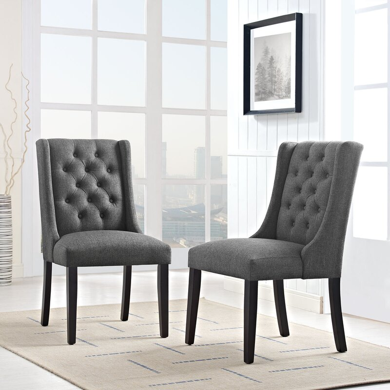 Modway Baronet Upholstered Dining Chair Reviews Wayfair