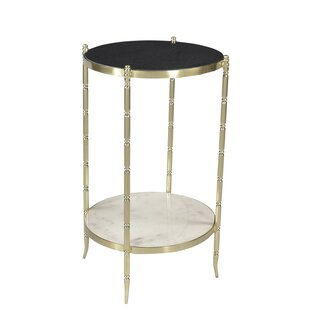 Sidetable Marble End Table by Tipton & Tate