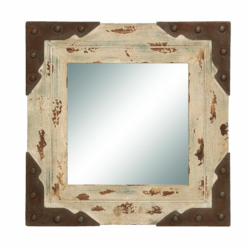 Wayfair Wall Mirrors cole & grey wood/metal wall mirror & reviews | wayfair