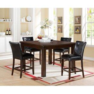 Lowder 5 Piece Pub Table Set by Red Barrel Studio