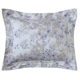 The Pillow Collection Ndele Floral Bedding Sham Aqua European//26 x 26