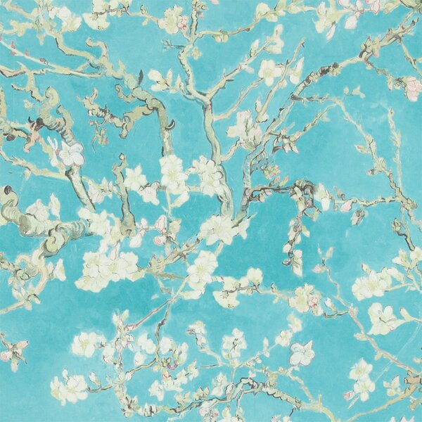"Wall Paper walls republic van gogh blossoming almond trees 33' x 20.8"" floral"