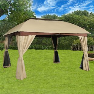 Cloud Mountain Inc. Garden 9 Ft. W x 12 Ft. D Steel Patio Gazebo