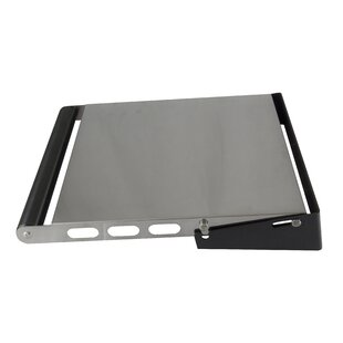 Review Foldable Stainless Steel Side Shelf