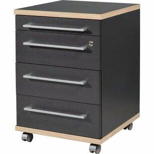 Best Price Hackler 4 Drawer Filing Cabinet