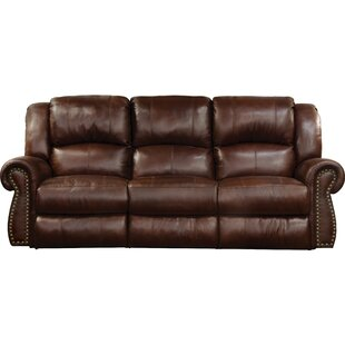 Purchase Messina Leather Reclining Sofa by Catnapper Reviews (2019) & Buyer's Guide