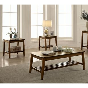 Wanda 3 Piece Coffee Table Set by Alcott Hill