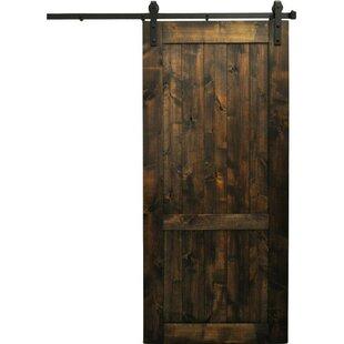 Rockmart Wood 1 Panel Interior Barn Door by August Grove