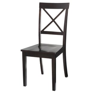 Ashmore Solid Wood Dining Chair by Alcott Hill