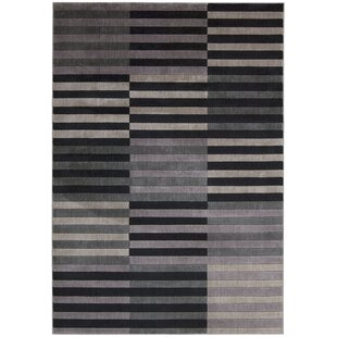 Price Check Kaiti Hand Woven Black/Gray Area Rug ByOrren Ellis