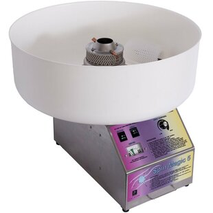 Spin Magic 5 Cotton Candy Machine with Platic Bowl