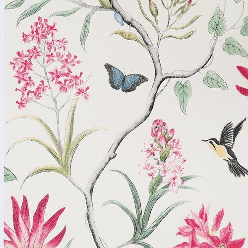 Seidenmatte Tapete Molimo 10 m x 53 cm Maison Alouette Farbe: Cremeweiß | Baumarkt > Malern und Tapezieren > Tapeten | Maison Alouette