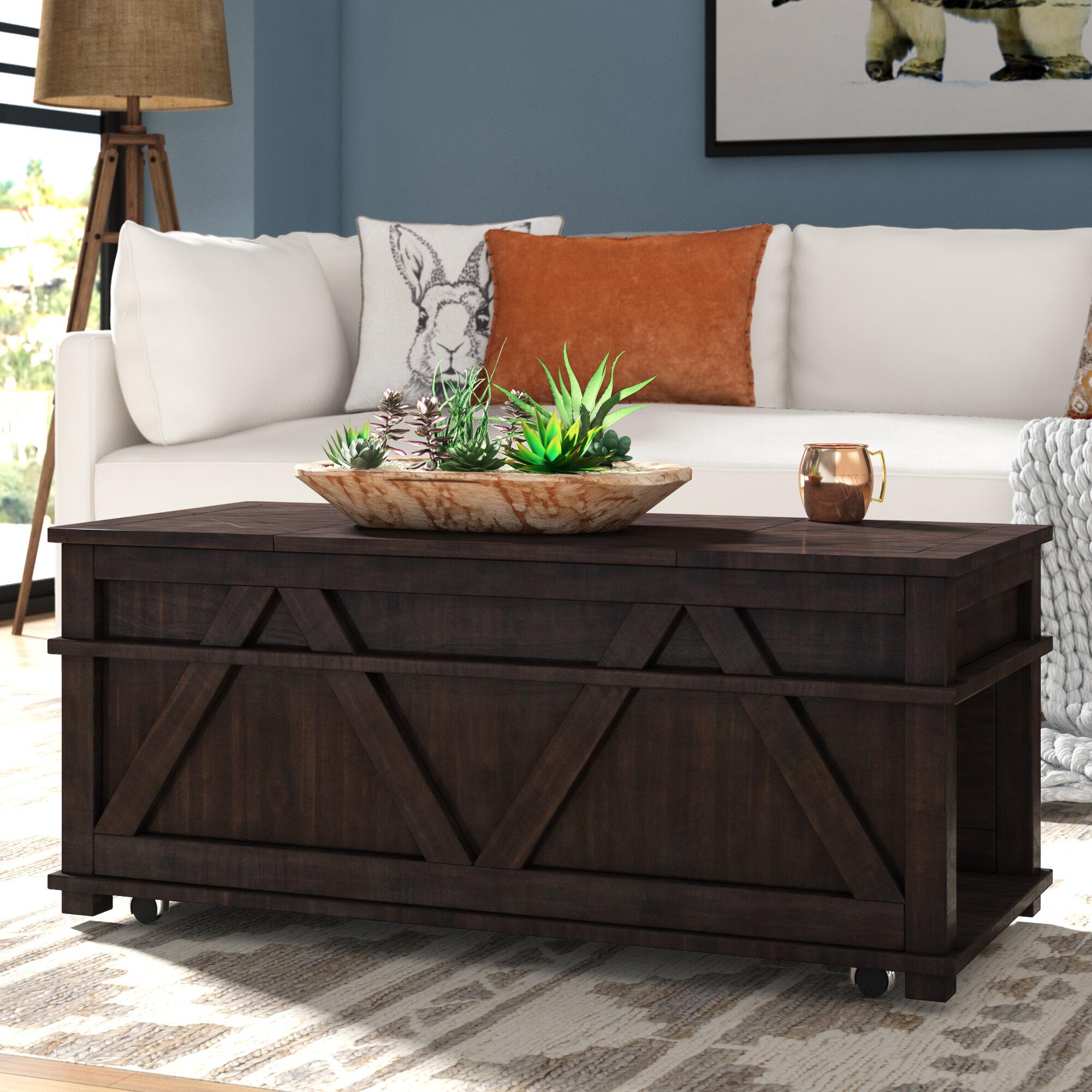 Birch Lane Heritage Beacham Coffee Table With Storage Reviews