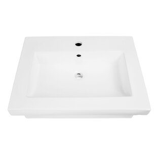 DECOLAV Lilac Classically Redefined Lavatory 24