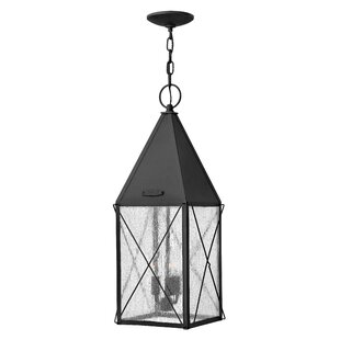 Best Review Smardale 3-Light Outdoor Hanging Lantern By Gracie Oaks