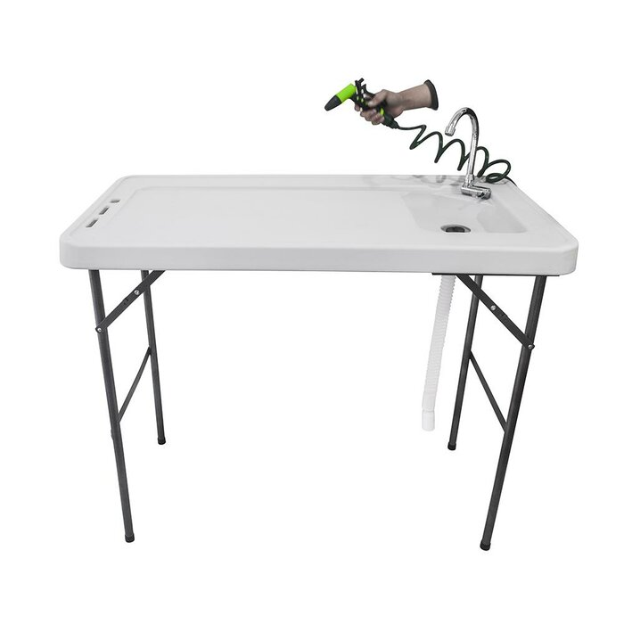 Portable Cleaning Cutting Fillet Table
