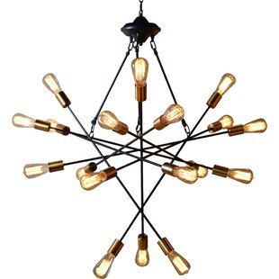 Williston Forge Campa 18-Light Chandelier