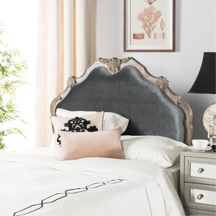 Reviews Amott Upholstered Panel Headboard by One Allium Way