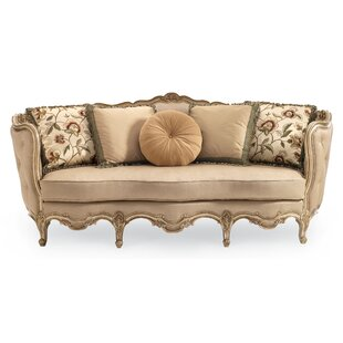 Merveilleux Drakeford French Carved Wood Sofa