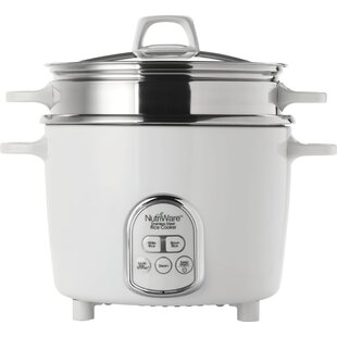 14-Cup NutriWare Digital Rice Cooker/Food Steamer