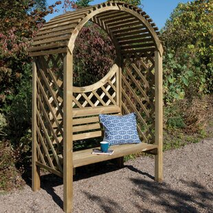 Roepke Wooden Arbour By Sol 72 Outdoor