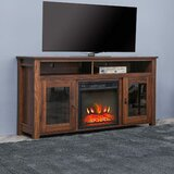 Alarick TV Stand for TVs up to 55 with Fireplace Included by Union Rustic