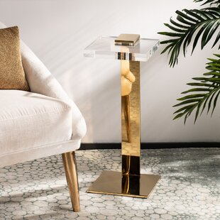 Monty End Table by Everly Quinn