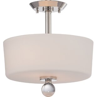 Gace 2-Light Semi Flush Mount