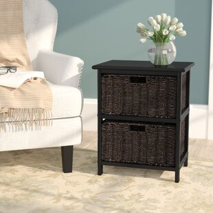 Bargain Hanley End Table With Storage by Breakwater Bay